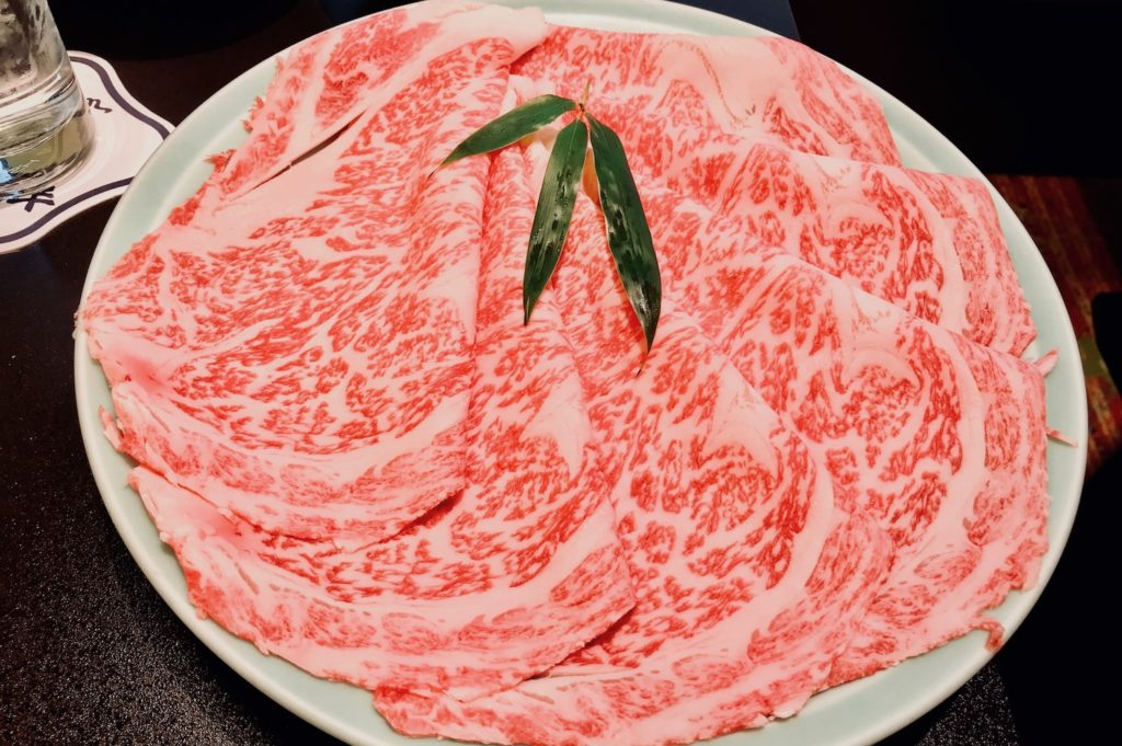High-quality beef at Imahan