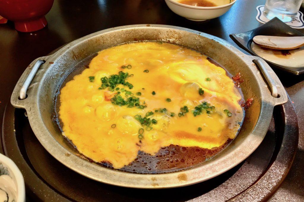 Omelette at Imahan