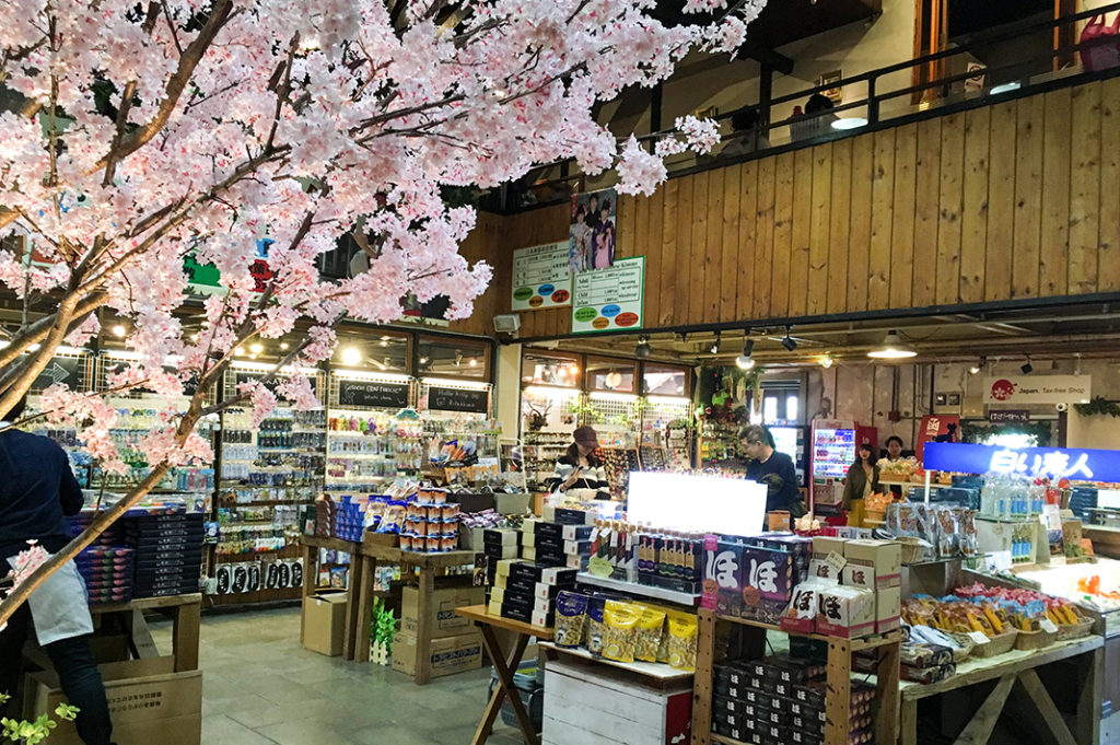 Drop by the Kanemori Red Brick Warehouse to stock up on local crafts and souvenirs