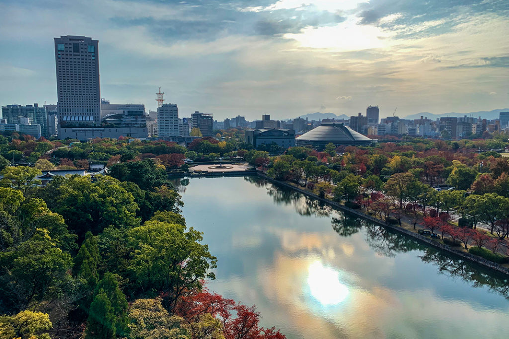Views from Hiroshima Castle