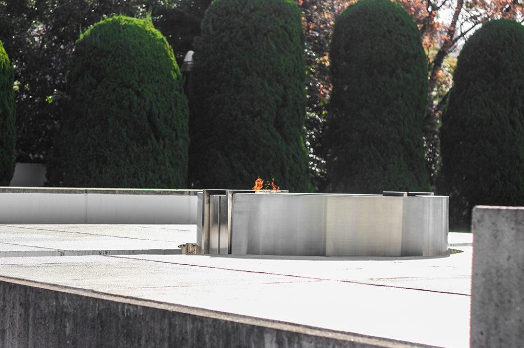 Hiroshima Peace Memorial Park: Peace Flame