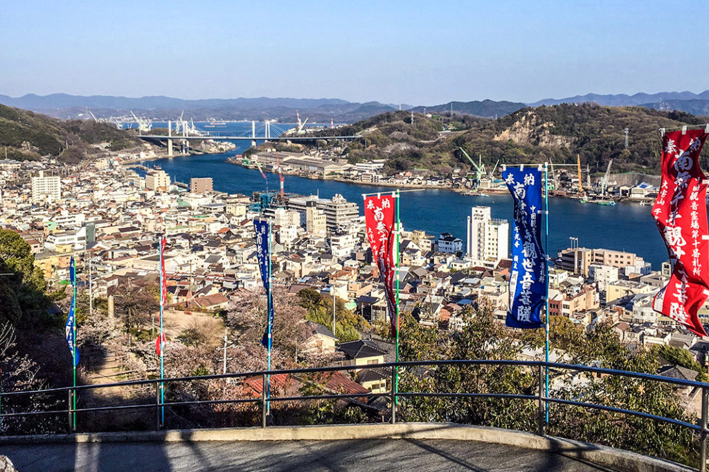 After the Onomichi Temple Walk, follow the Literature Path back down into the city's core