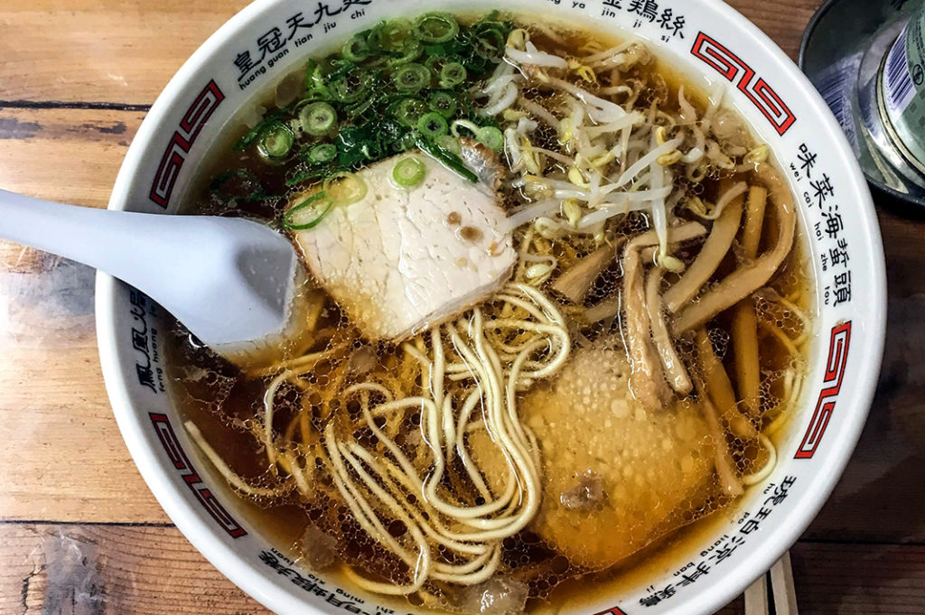 Local ramen: Perfect after walking the Literature Path