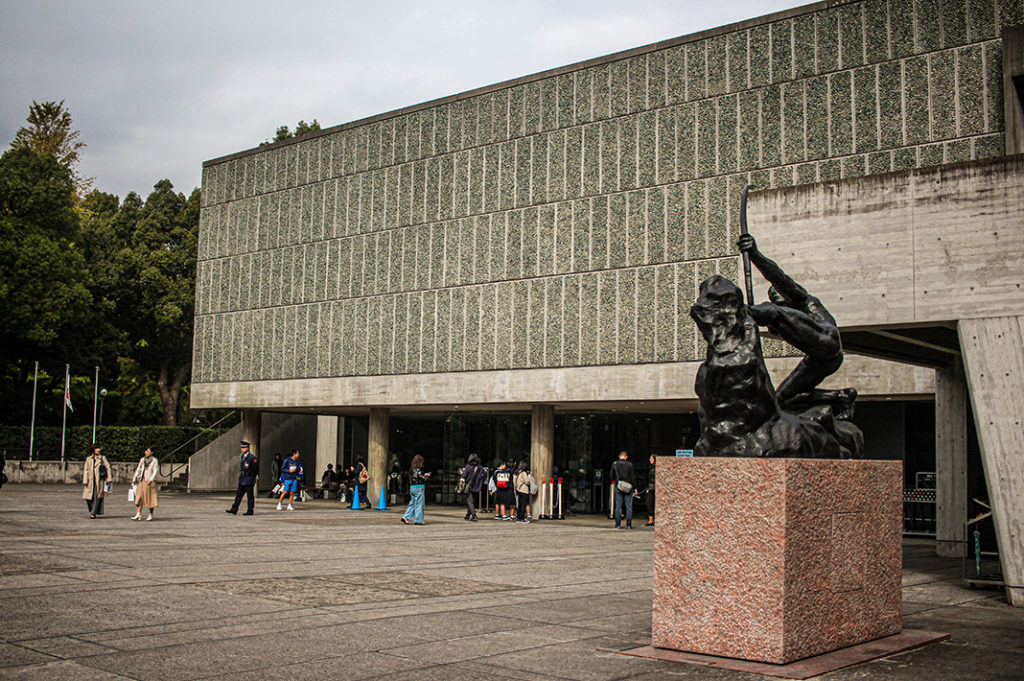 National Museum of Western Art within Ueno park