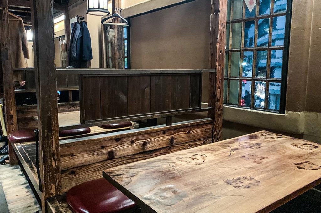 Inside Gonpachi (aka the Kill Bill restaurant) in Nishi Azabu