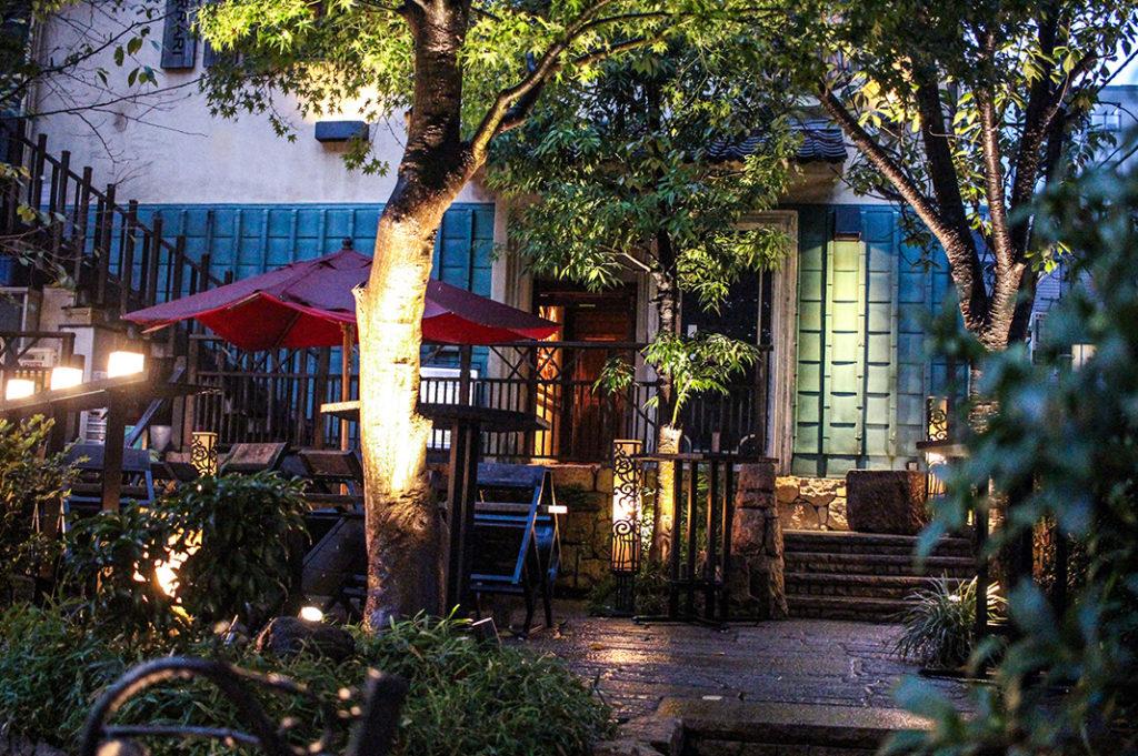 The exterior of Gonpachi (aka the Kill Bill restaurant) in Nishi Azabu