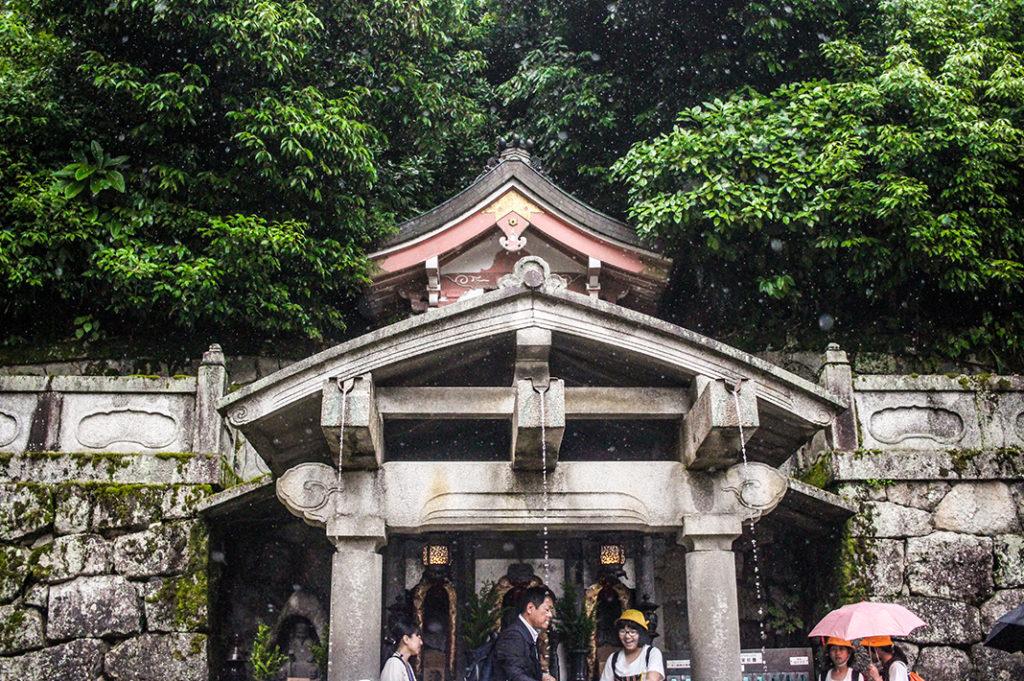 Otowa no taki (Otowa Waterfall)   at Kiyomizudera temple
