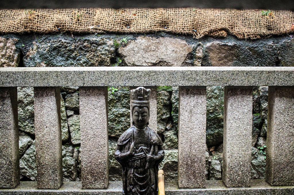 Nurete Kannon statue at Kiyomizudera temple