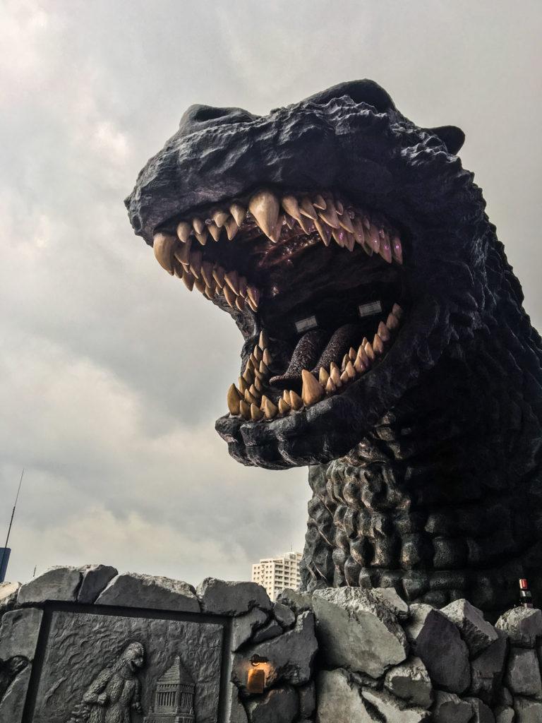 Godzilla heat at the Gracery Hotel