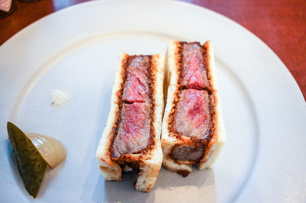 Wagyu Mafia (the Cutlet Sandwich) in Nakameguro