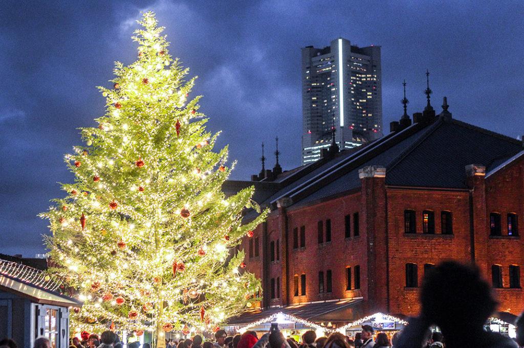 Christmas Market at the Yokohama Red Brick Warehouse