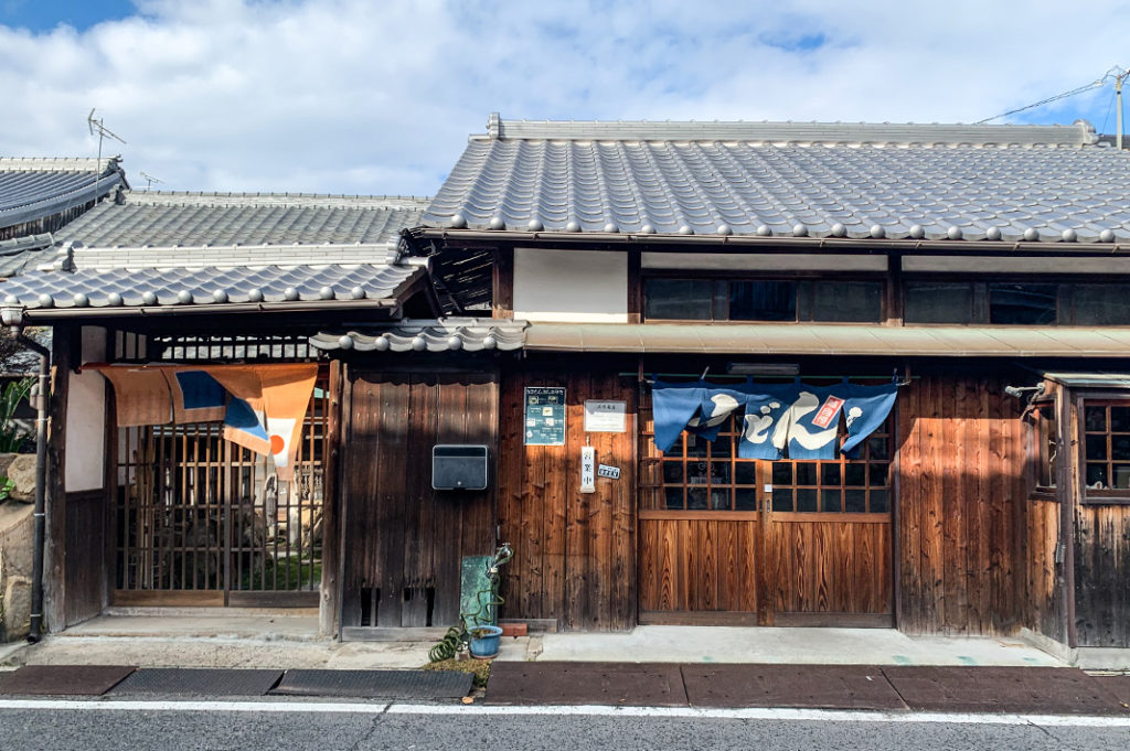 Food on Naoshima is varied and delicious!