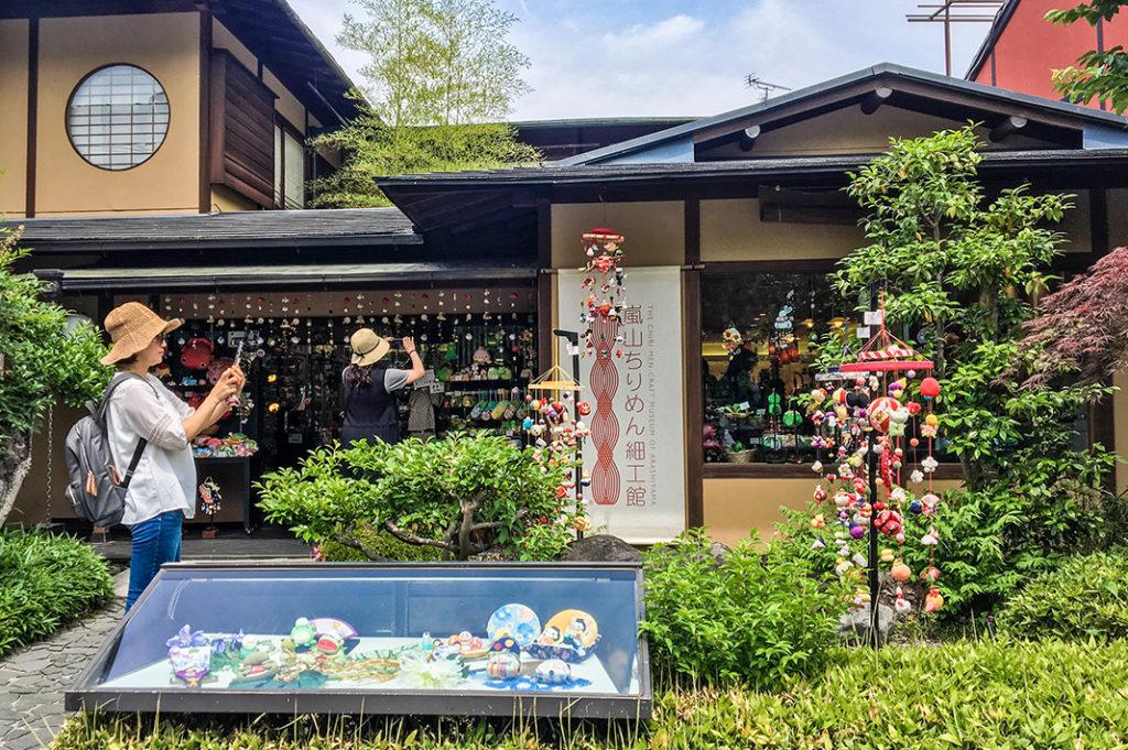 Shopping in Arashiyama