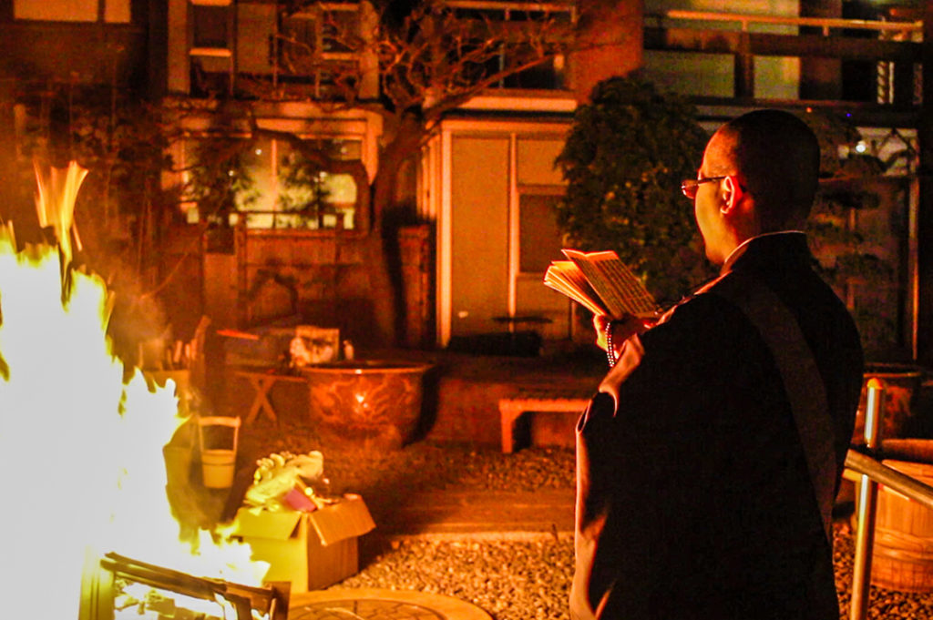 Japanese New Year Tradition: hatsumode, or the first temple or shrine visit of the New Year