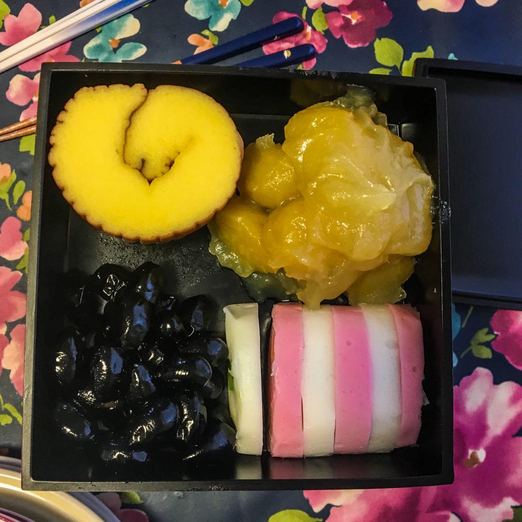 Japanese New Year Tradition: eating osechi ryori