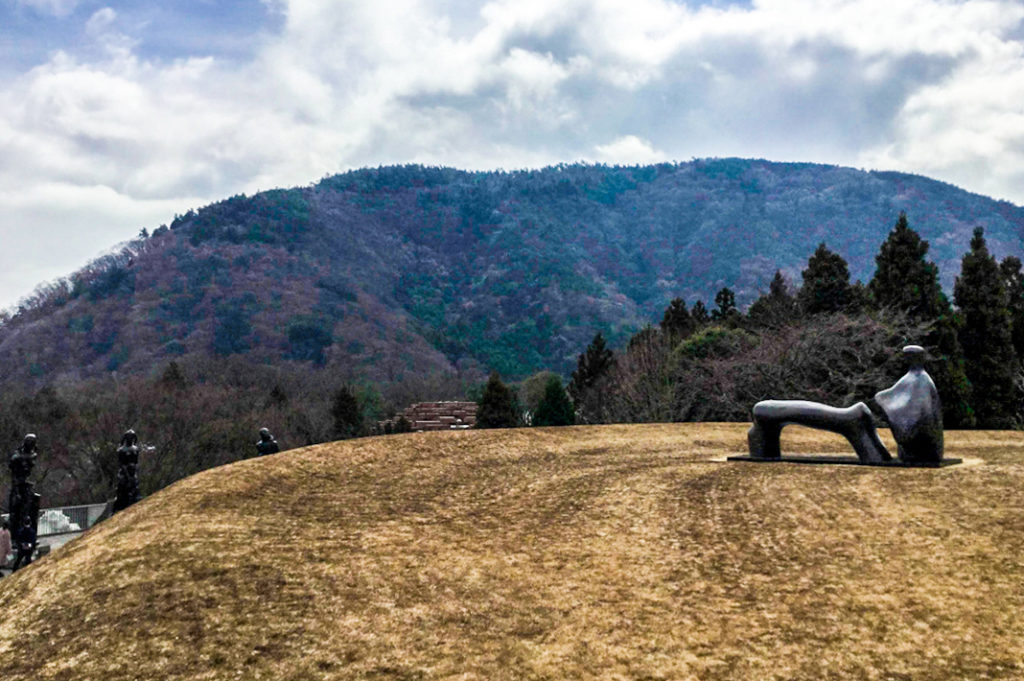Henry Moore sculpture at Hakone Open Air Museum