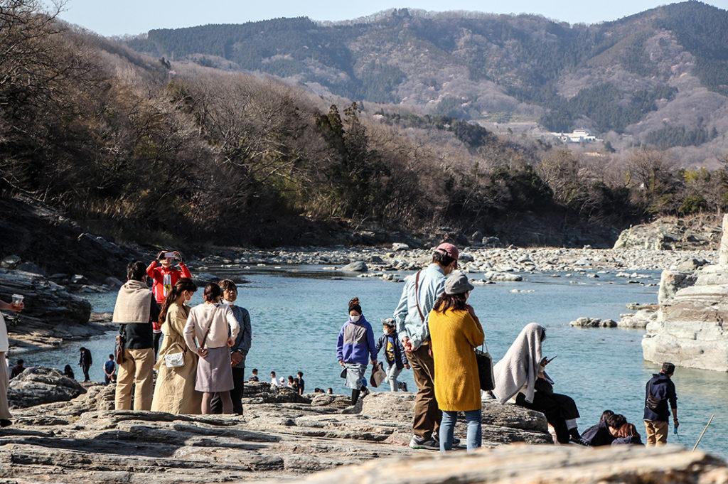 Nagatoro day trip: Exploring the Iwadatami rocks
