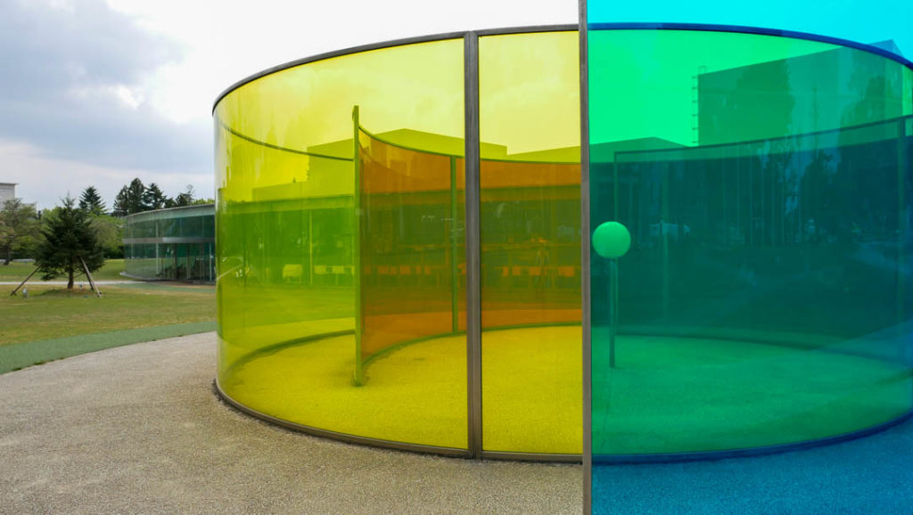 "Olafur Eliasson's ""Colour Activity House"" at 21st Century Museum"