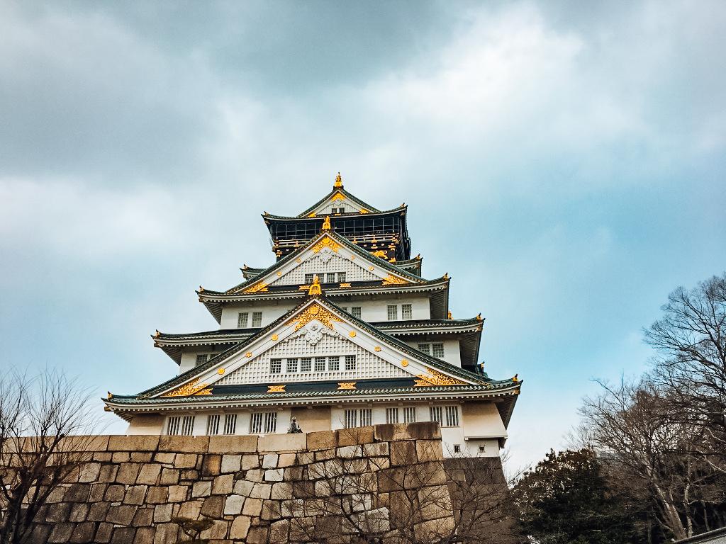 osaka castle main building