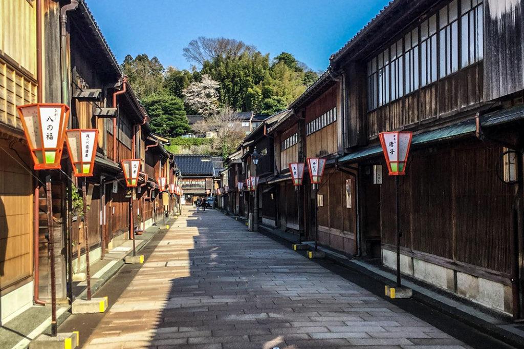 Higashi Chaya, Kanazawa's largest teahouse district.