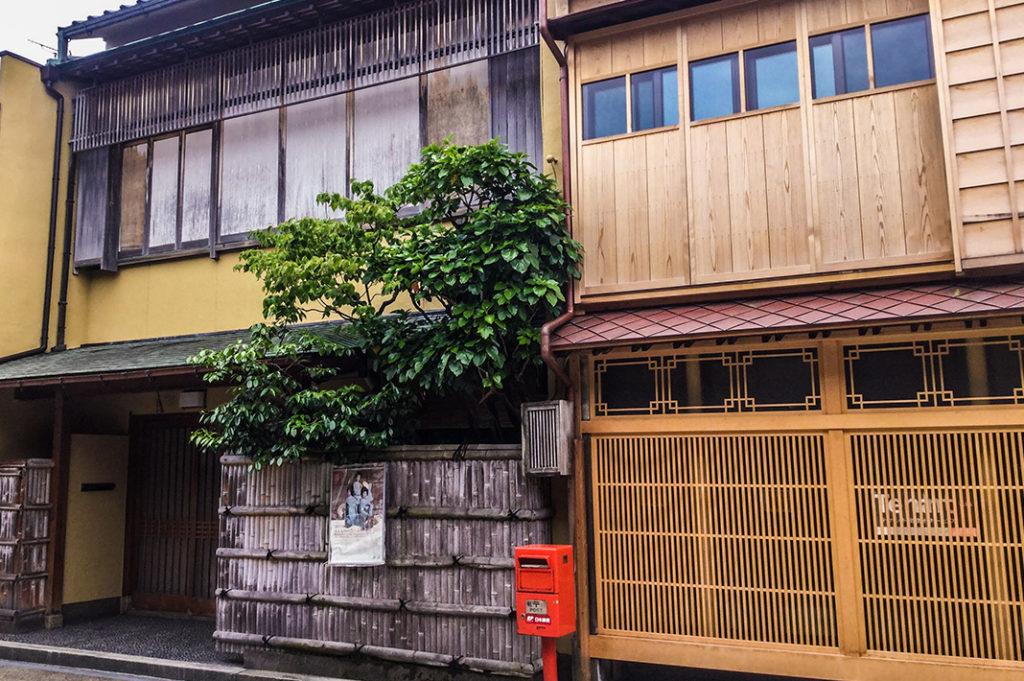 Nishi Chaya, Kanazawa's smallest teahouse district.