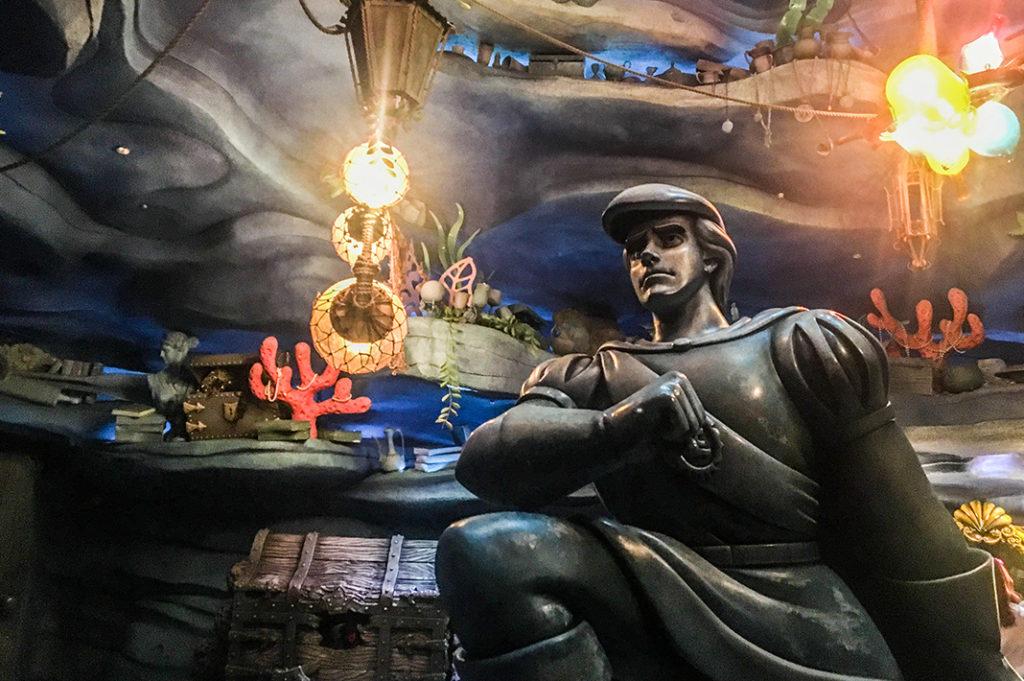 Disney Classic: Prince Eric statue in Mermaid Lagoon