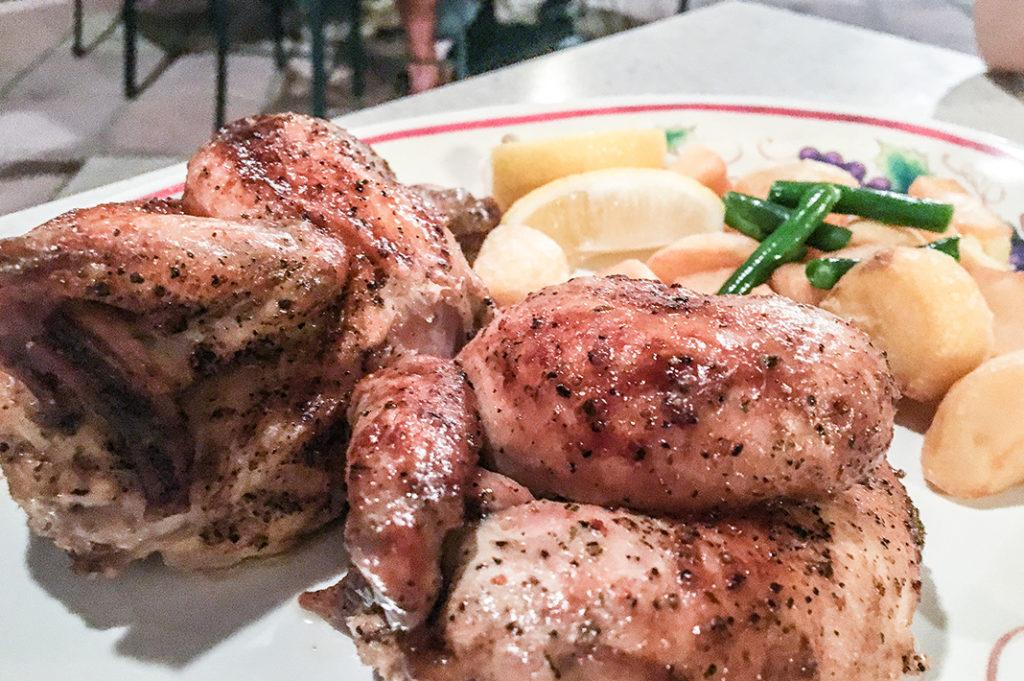 Rotisserie Chicken in Mediterranean Harbor, Tokyo DisneySea