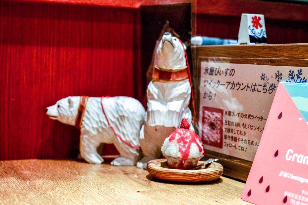 At the counter of Kooriya Peace