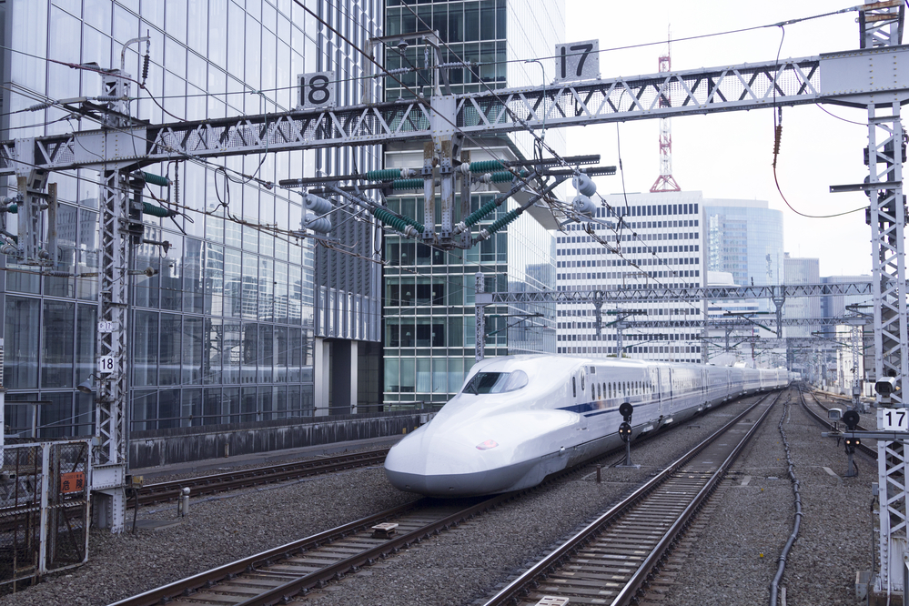 Shinkansen high speed train