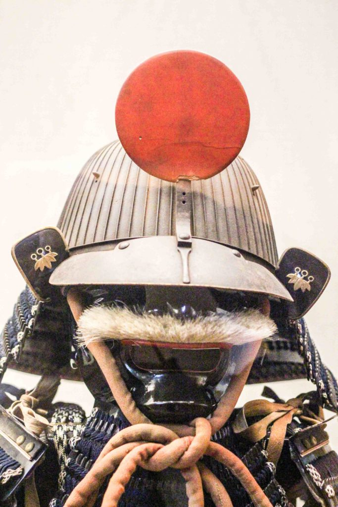 Local samurai uniform