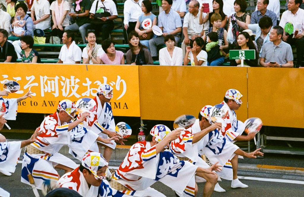 The Fool's dance at Awa Odori Festival