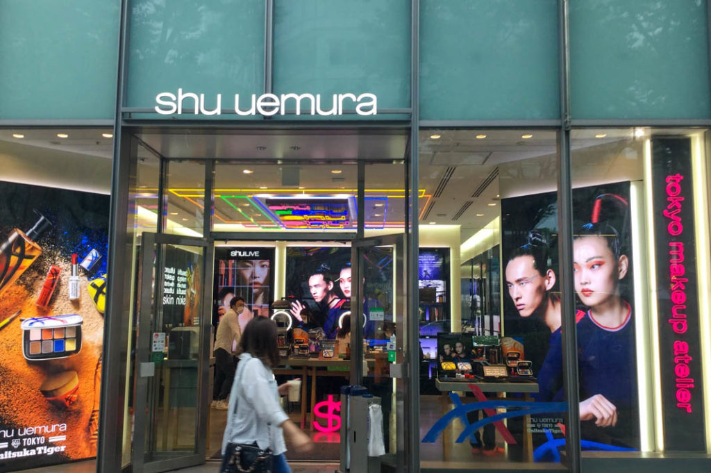 Cosmetics shopping in Japan