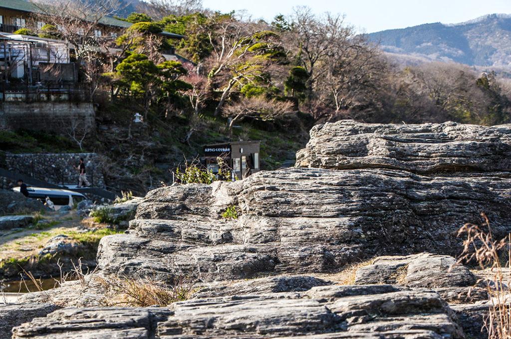 Explore the curious Iwadatami rock formation in Nagatoro, Saitama.