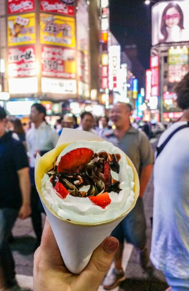 Get your fill of crepes at japanese bakeries