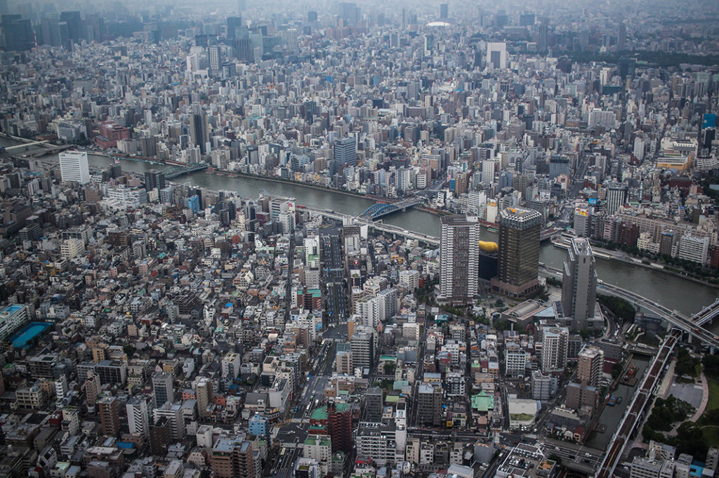 Some of the best views of Tokyo can be enjoyed at Tokyo Skytree