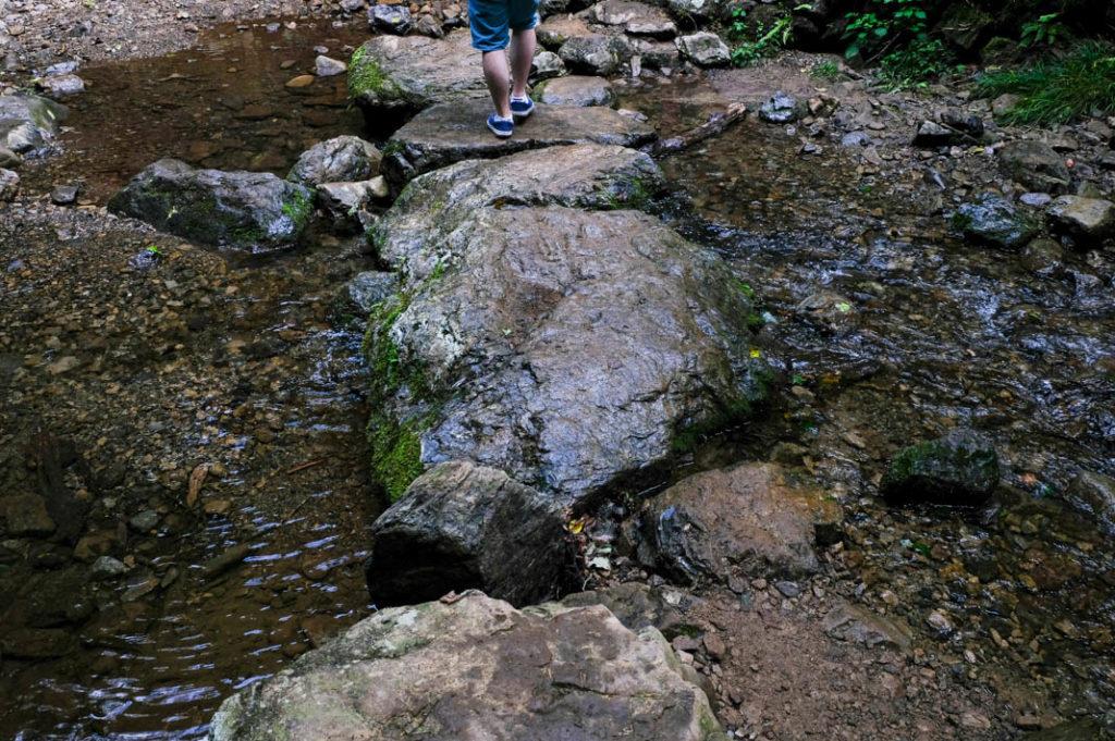 The Rock Garden in Mt. Mitake.