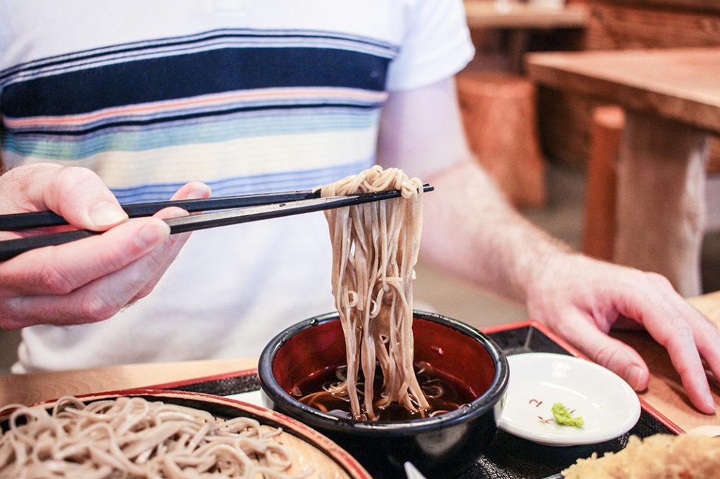 Things to do in Nagano city: eat soba