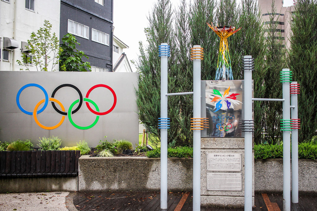 Things to do in Nagano city: hunt for Olympic rings!