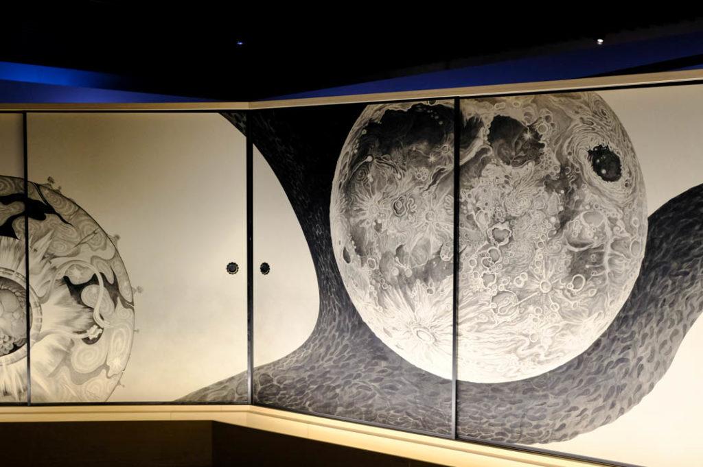 A work by Tomoko Konoike at the Artizon Museum.