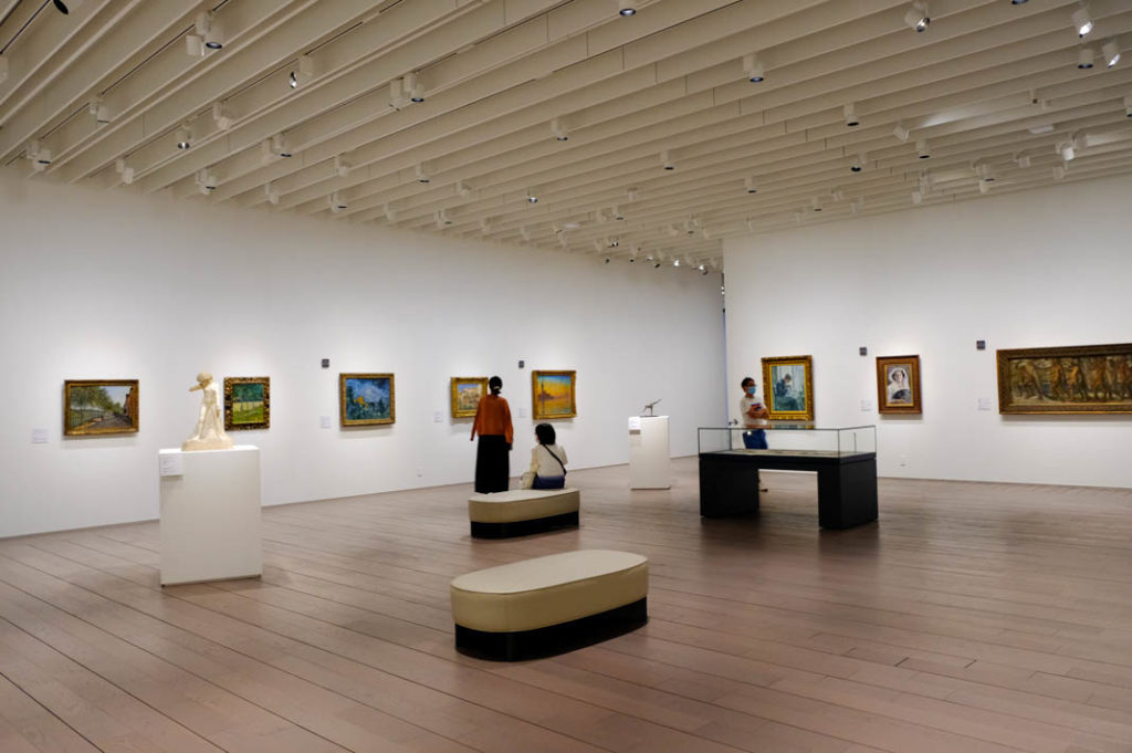 Impressionist paintings from the Ishibashi Foundation Collection.