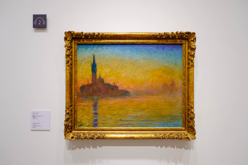 Famous Impressionist paintings curated by the Ishibashi Foundation Collection.