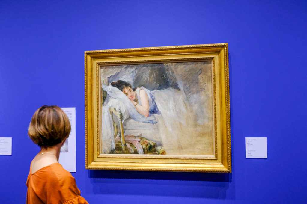 One of the museum's recently acquired Impressionist works.