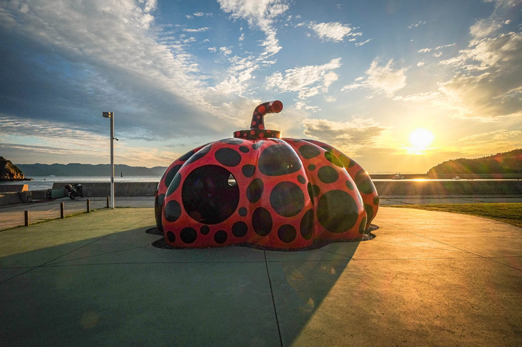 The Red Pumpkin at the ferry terminal. See it now or in the afternoon.