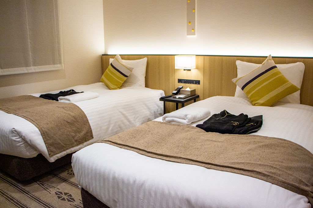 Conveniently located, comfortable and well-priced, the three-star 'Hotel Vista Fukuoka' is a great place to stay in Fukuoka.
