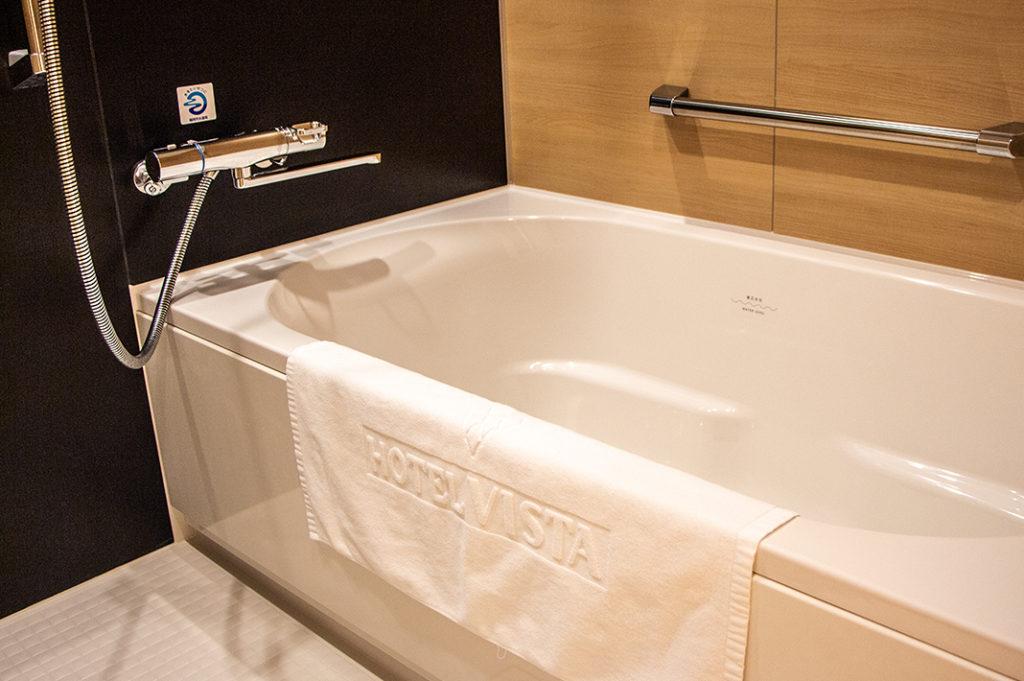 The bathroom at Hotel Vista Fukuoka