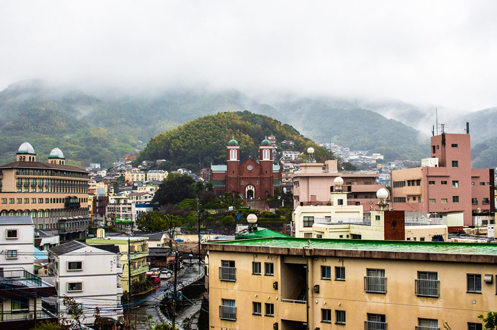 Views from Nagasaki Peace Park