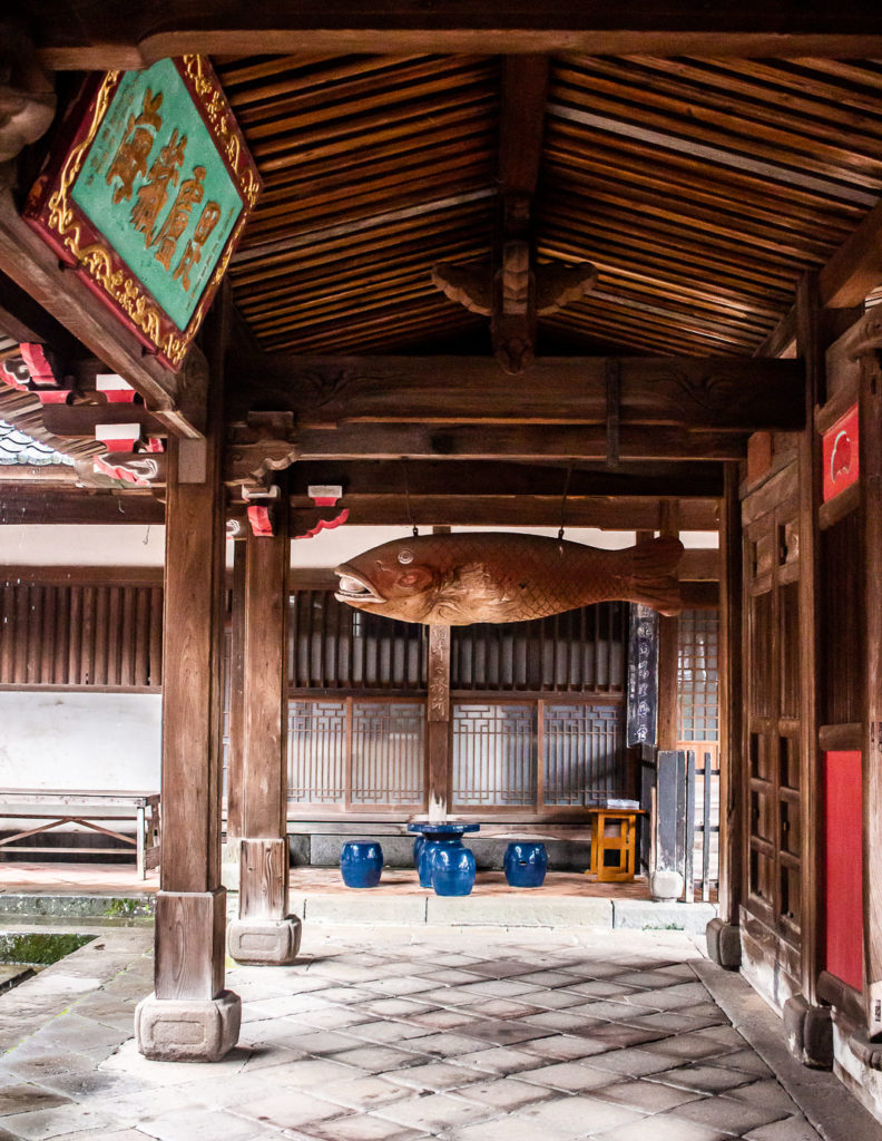 Chinese architecture at Sofukuji Temple