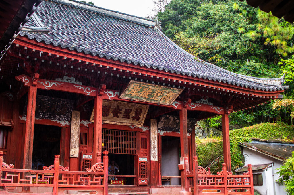 Sofukuji Temple, a famous Chinese Temple in Nagasaki