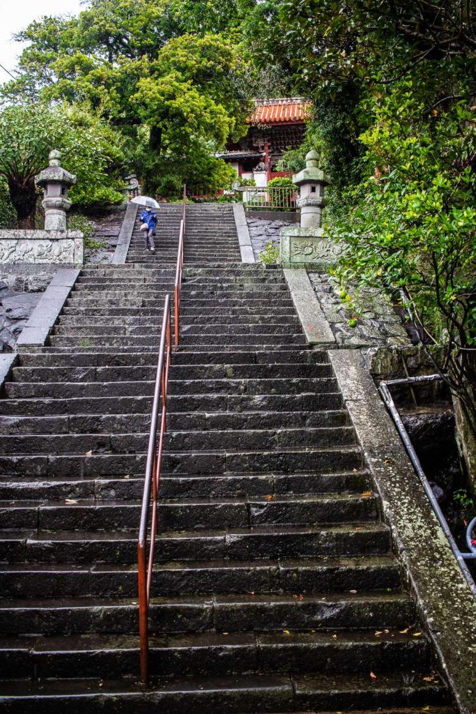Head up the steps to find more treasures