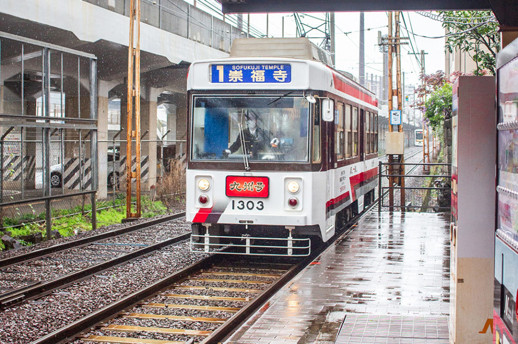 Nagasaki trams are the highlight of the public transport system
